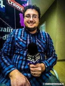 """Eu - """"reporter"""" la Digi24 Craiova"""