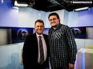 Mihai Firică și eu, poza de după emisiune