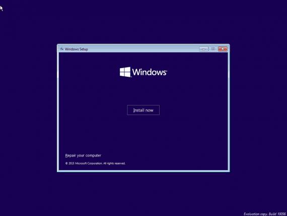 Windows 10 - Pasul 2