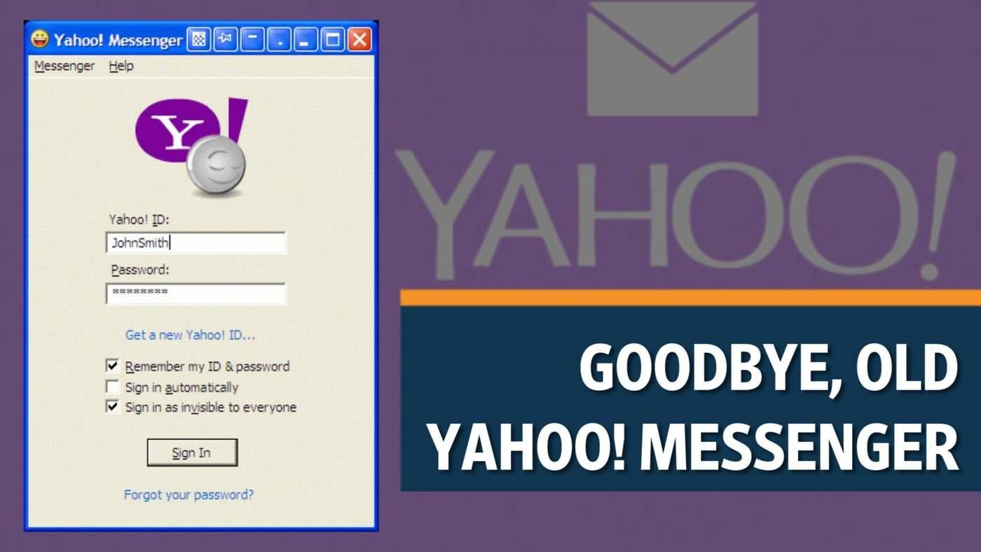 Se inchide Yahoo Messenger