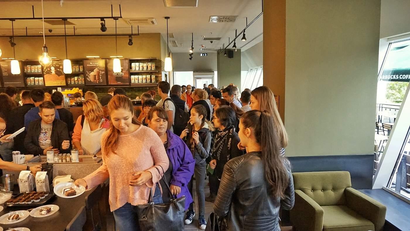 Deschidere oficială Starbucks Craiova