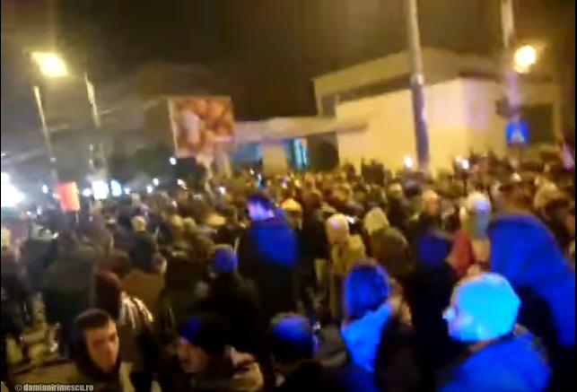 Proteste în stradă Photo © damianirimescu.ro