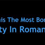 Chiar e Câmpina cel mai plictisitor oraș din România? VIDEO