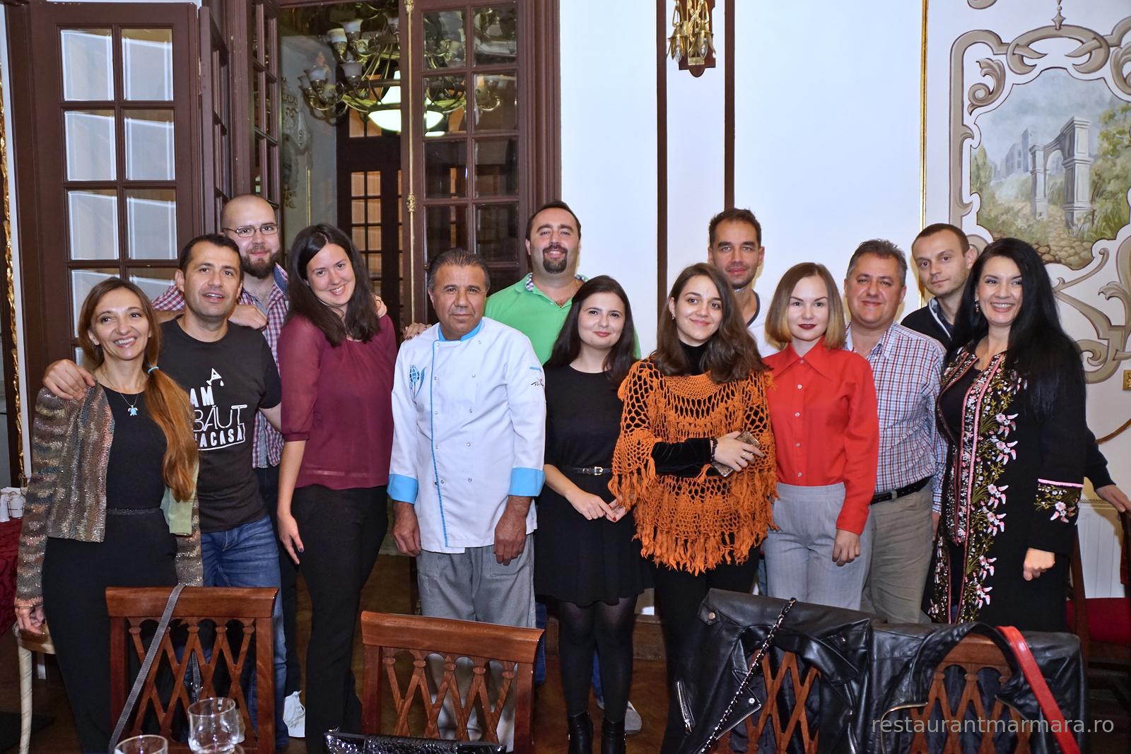 Blogosfera Craioveană împreună cu bucătarul Cuma