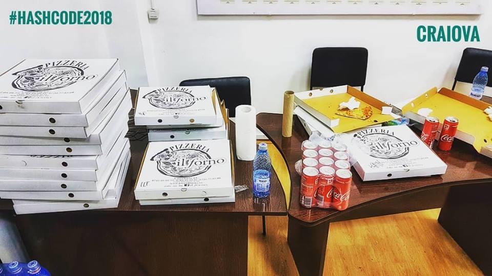 Pizza și sucurile, de la Pizza Il Forno